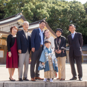 K様:護国神社